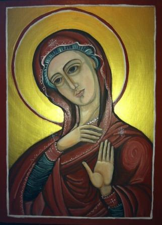 painting of Mary icon