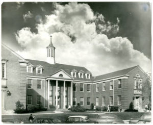 Nyvall Hall, approximately 1950 (image credit: CAHL 4869)